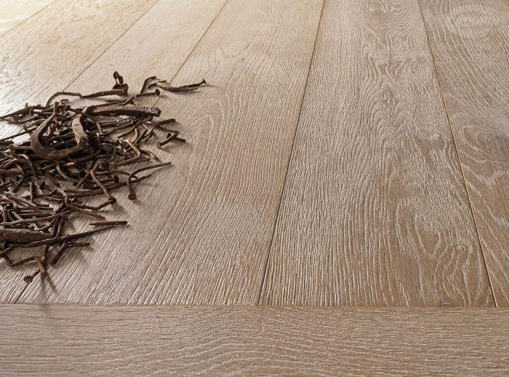 Oak wood flooring - Antiqued Marble lime effect