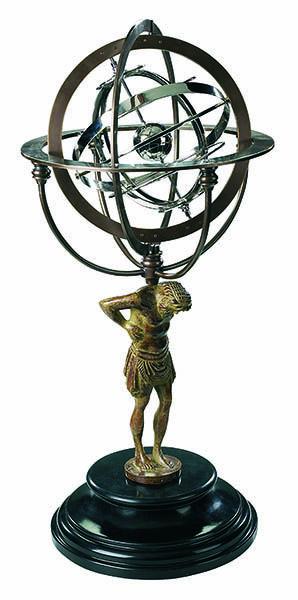 Armillarsphäre Atlas