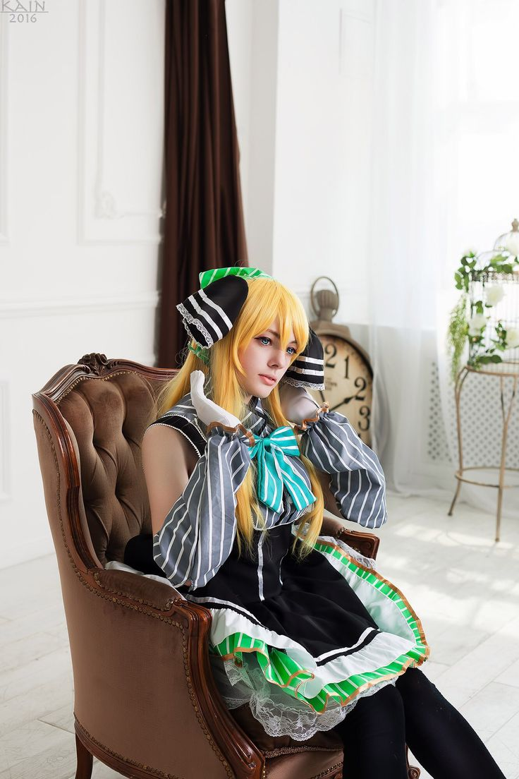 Love Live! Cosplay  Fandom:: Love Live! School Idol Festival  Character:: Ayase Eli Cosplayer:: Rikari Yuta  Country, city:: Russia; Moscow