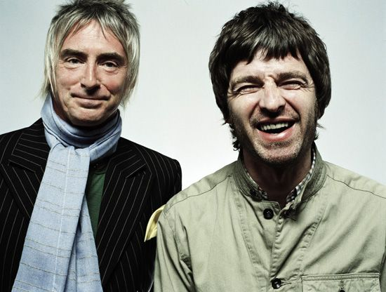 Paul Weller and Noel Gallagher