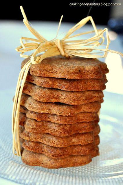 Pyszne, kruche ciasteczka korzenne, które zaliczam do moich ulubionych. Ciasto na ciasteczka przygotowuje zazwyczaj dzień wcześniej i przech...
