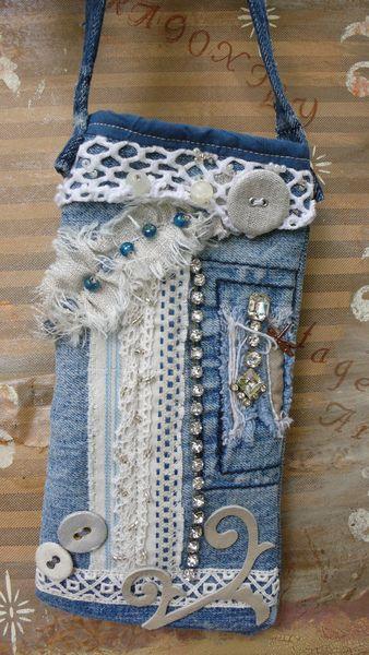 Glassespouch, Iphonebag, Jeans von Dragonflydesign auf DaWanda.com Auch direkt bei mir. angelikaklueber@web.de