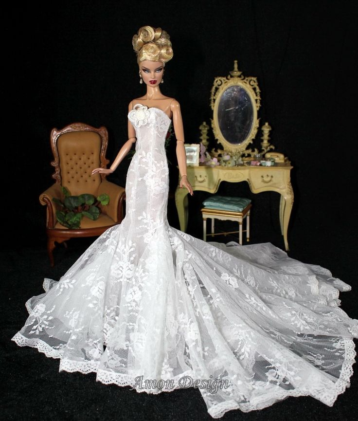 Wedding gown by Amon
