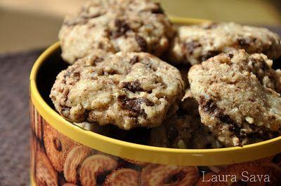 Fursecuri cu ciocolata de post   Retete culinare cu Laura Sava