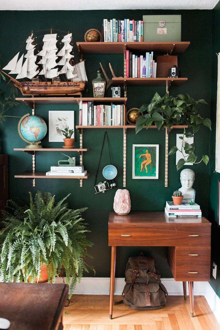 18 Green Room Decor Ideen zur Schaffung eines ruhigen und entspannenden Raums