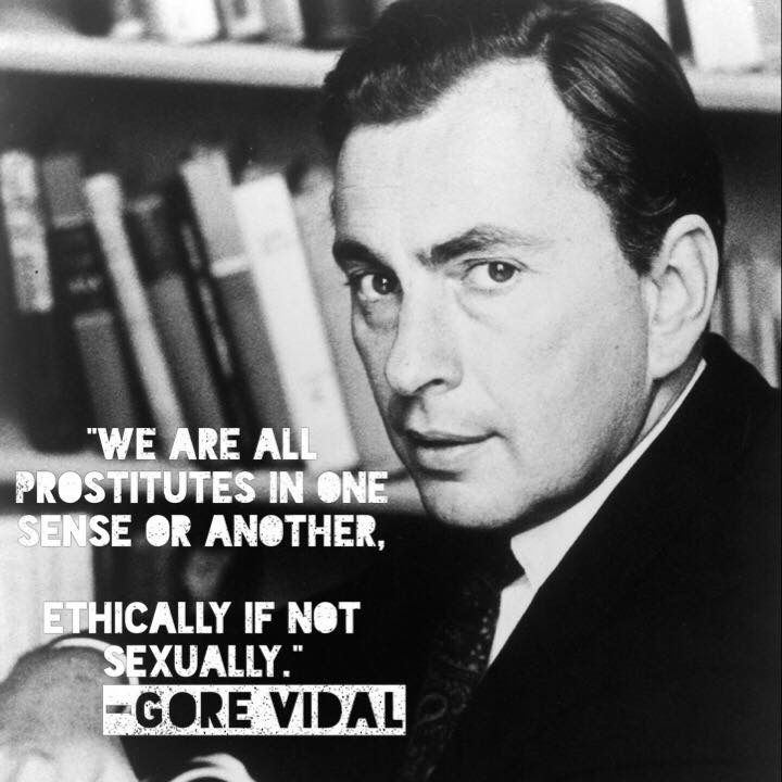 gore vidal Gore vidal was a prolific writer and witty political critic who authored 24 novels before his death in 2012 learn more at biographycom.