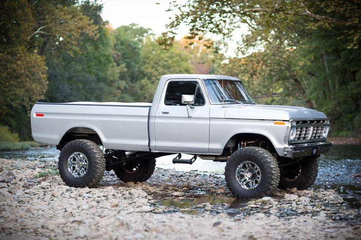 Amazing silver 73-75 Highboy F250 | Lifted Trucks | Pinterest
