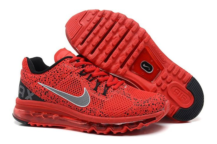 Nike Air Max 2013 CAMO Männer Rot Schwarz