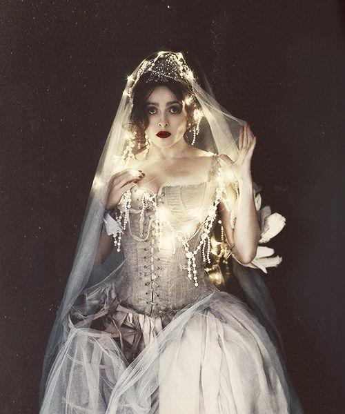 grotesqueburlesquebeauty:    mirroir:    Helena Bonham Carter by Gustavo Papaleo [2012]