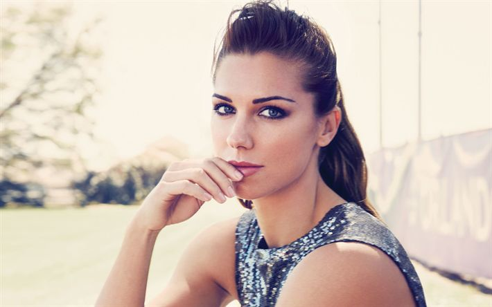 Download wallpapers Alex Morgan, beauty, photomodels, american soccer player, photoshoot