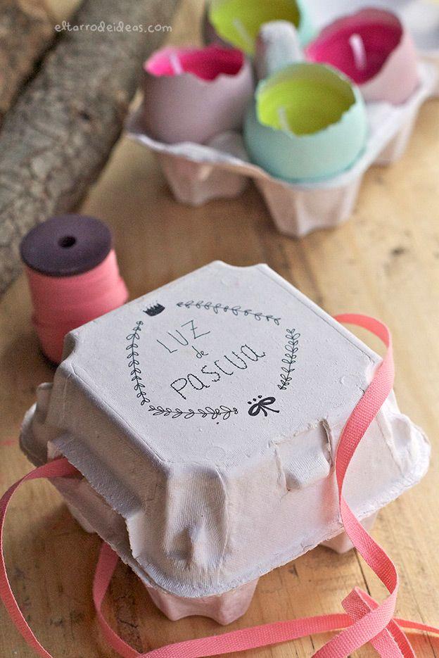 Huevos de Pascua hechos por ti. Un tutorial monísmo! | El tarro de ideasEl tarro de ideas