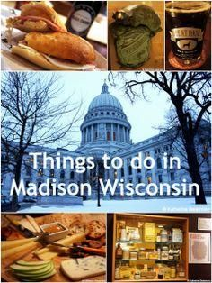 What to do when visiting #Madison #Wisconsin. #travel