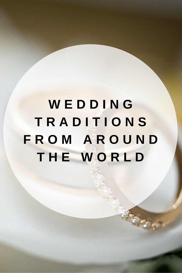 Love is the same everywhere but  different cultural traditions make each marriage unique.
