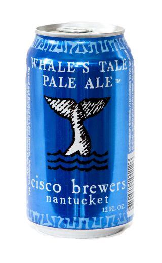 Cerveja Cisco Brewers Whale's Tale Pale Ale, estilo Extra Special Bitter/English Pale Ale, produzida por Cisco Brewers, Estados Unidos. 5.5% ABV de álcool.
