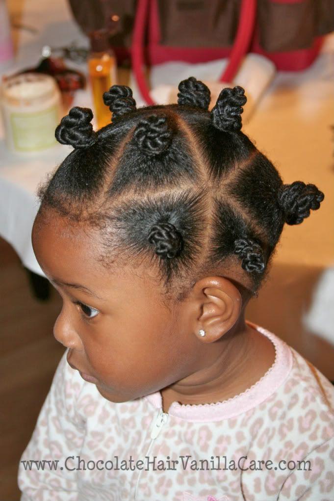 Baby Bantu Knots 3 Children HairstylesKids HairstyleBlack Girls