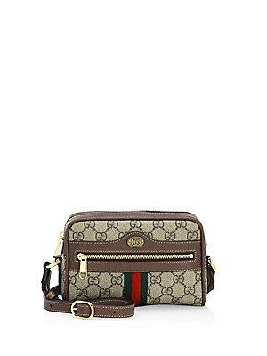 4279446d133 Gucci Mini Ophidia GG Supreme Canvas Crossbody Bag