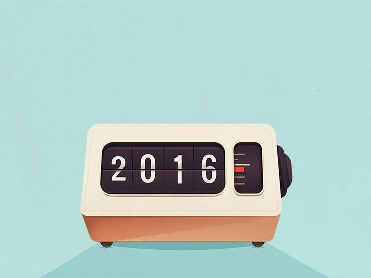 The Clock Strikes 20:16 by Maggie Appleton