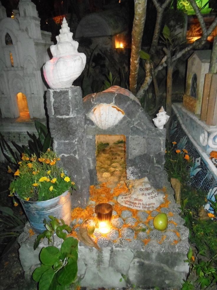 Traditional Mexican cemetery @Xcaret Park #FestivalVidayMuerte
