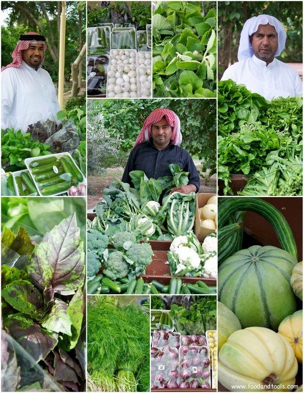 Bahrain's Farmers Market, a great place to get fresh vegetables from local farmers and lovely people!