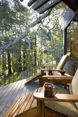 Big Sur, California-Post Ranch Inn-Tree House! A great getaway.