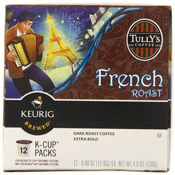 """If you love k cup best price with an """"neither too strong or weak"""" flavor. Tully's Coffee French Roast is the best k cups coffee to choose."""