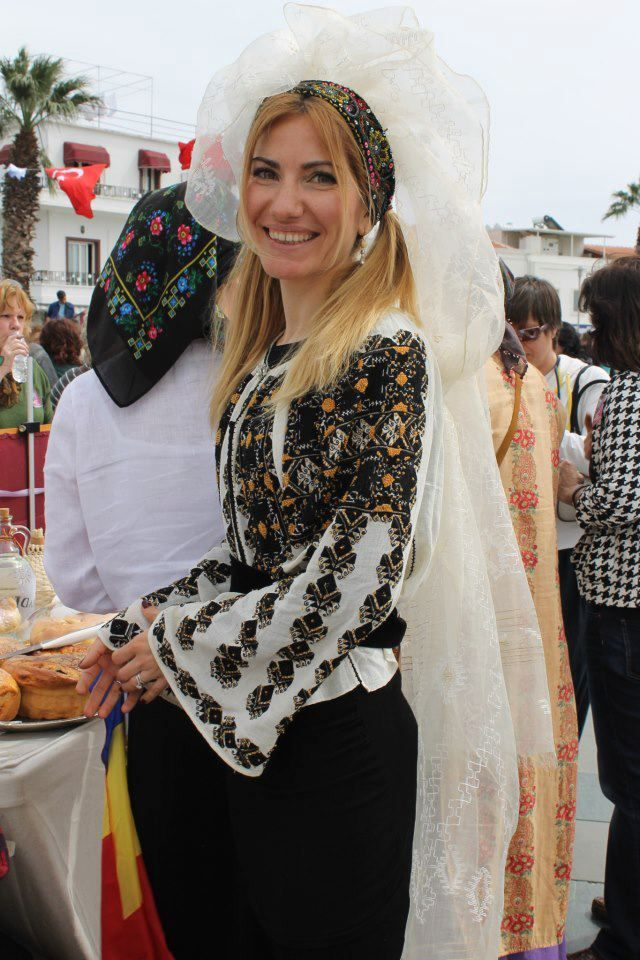 Romanian costume - Rucsandra Tomescu, Bodrum, Turkey