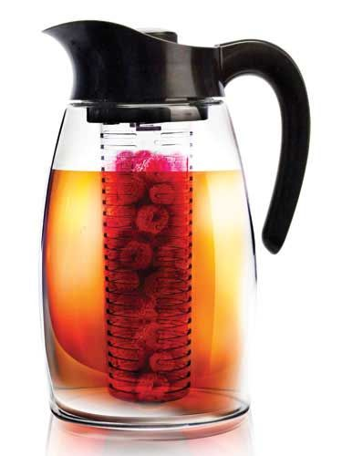 Add herbs, spices, and fruit to your choice of beverage with the Primula Flavor It Infusion Pitcher ($35).