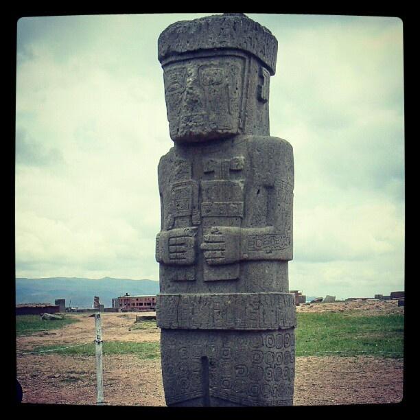 Tiwanaku pre inca culture Bolivia