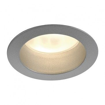 LED HORN, silbergrau, LED warmweiss / LED24-LED Shop