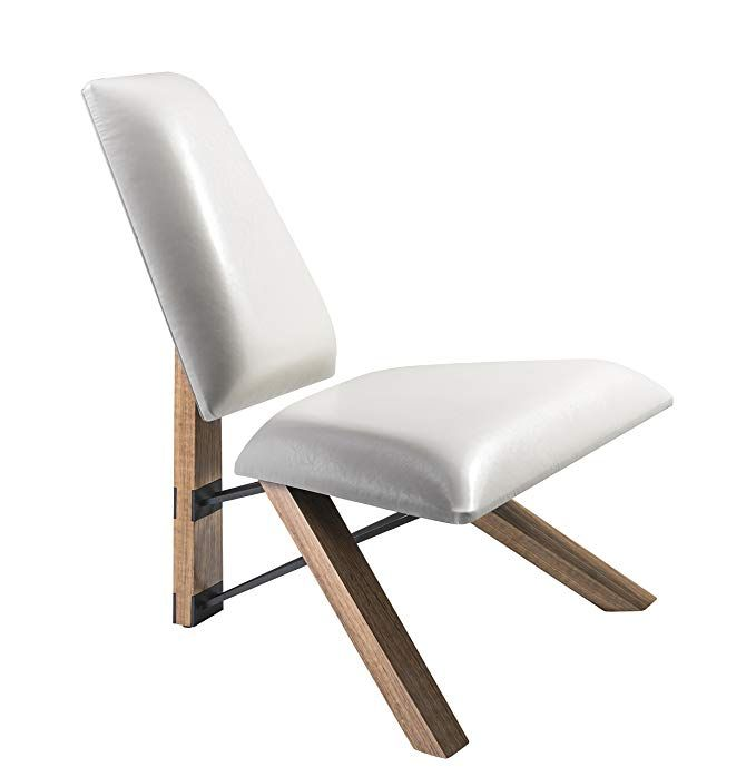 Adesso Gr2100 02 Hahn Leather White Fabric Chair Review