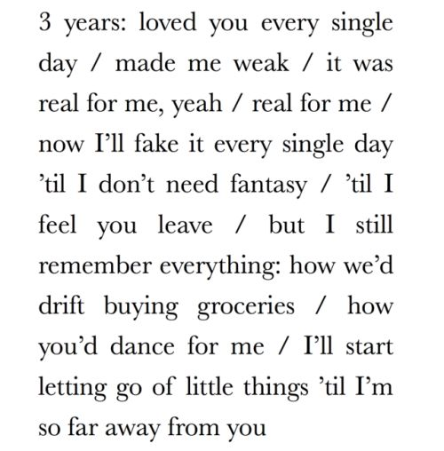 Hard Feelings/Loveless - Lorde - Lyrics