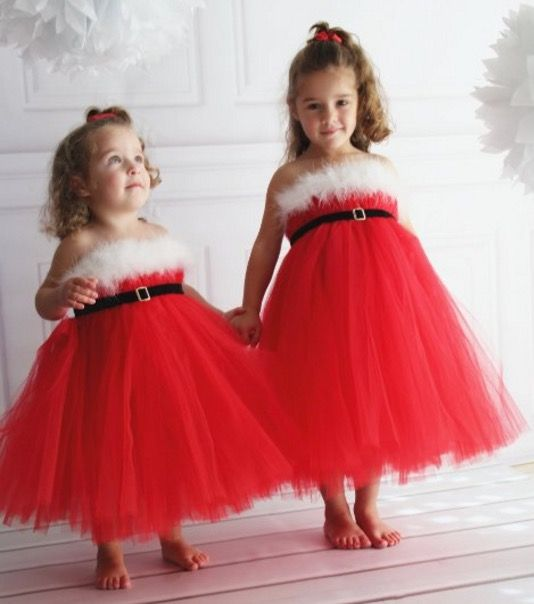 Santa Dress - cute dress for Christmas Day - check out the Snowman version too.