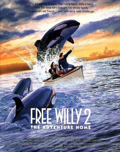 Free Willy 2 The Adventure Home best movie in the world. heart touching