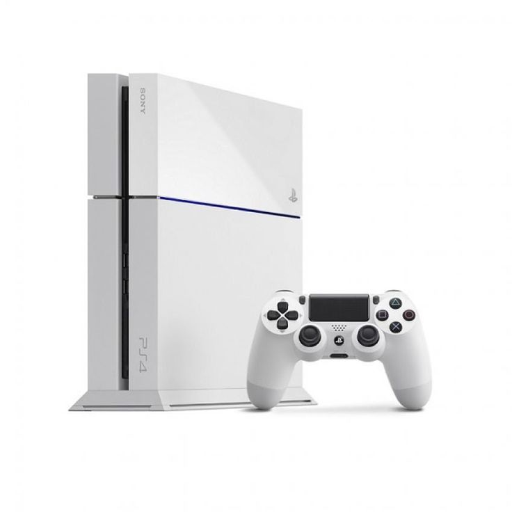 Sony Ps 4 White 500gb. The PS4 is ready to rock your gaming world, immortalize your most epic moments and share at the press of a button, share it to witch, UStream, Facebook and Twitter. Are you ready for the new gaming experience ? http://www.zocko.com/z/JGzus