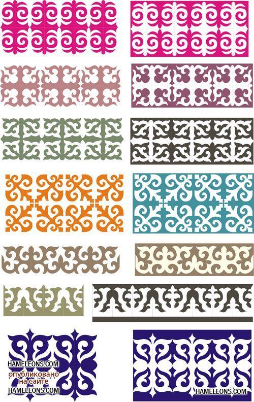 Казахский орнамент в народном творчестве 2