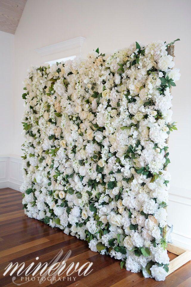 Jade Violet Wedding Floral Flower Wall Wedding Floral Wedding Decorations White Wedding Flowers