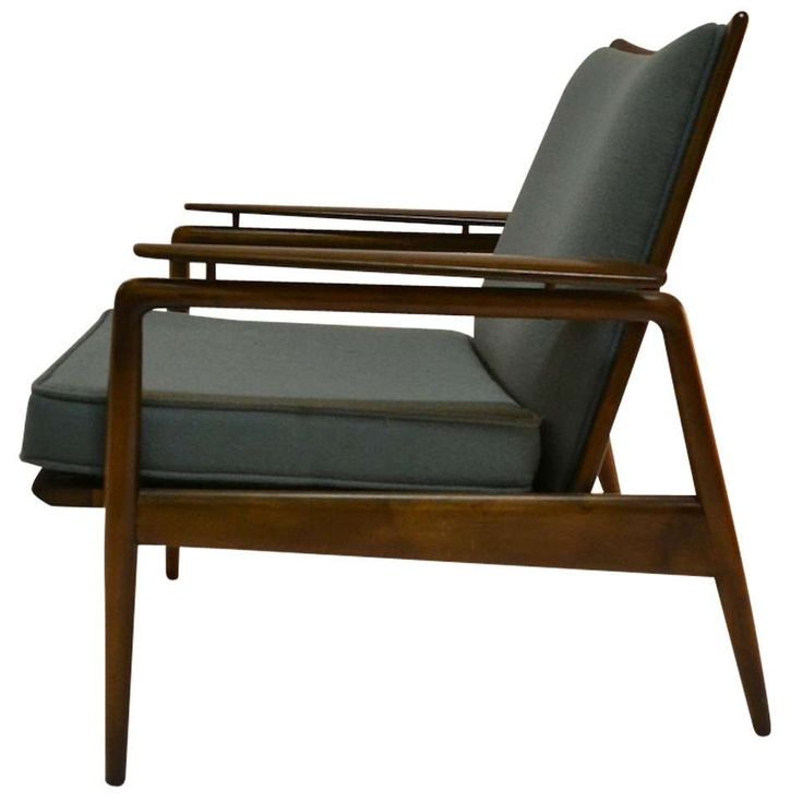 Danish Modern Lounge Chair by Selig 1