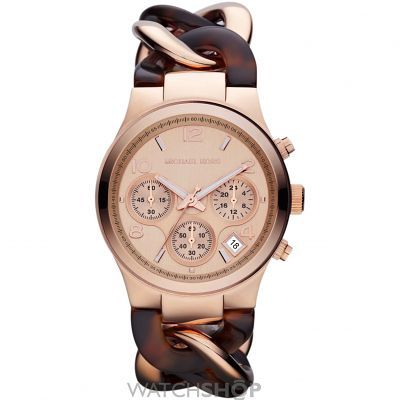 Ladies Michael Kors Runway Chronograph Watch MK4269