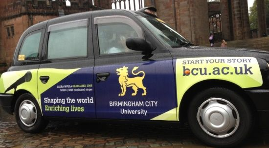 Coventry Taxi Advertising