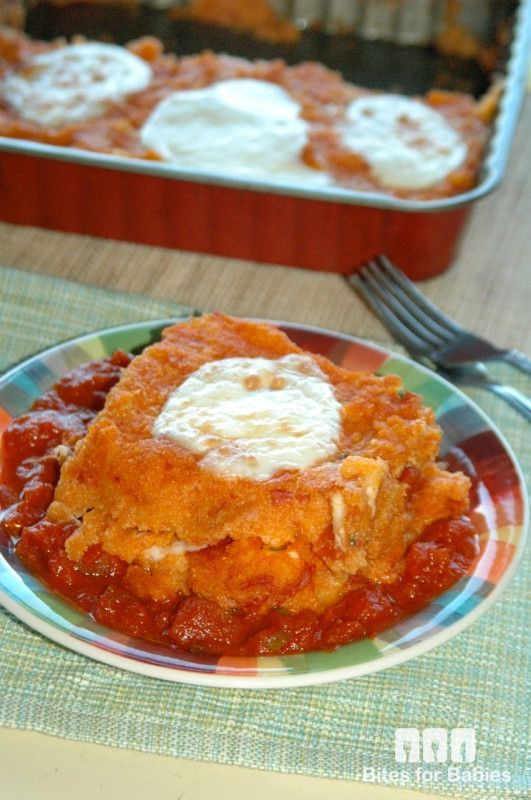 + ideas about Polenta Lasagna on Pinterest | Polenta, Creamy Polenta ...