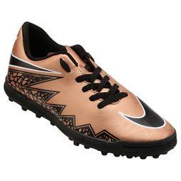 Chuteira Nike Hypervenom Phade 2 TF Society Infantil - Cobre