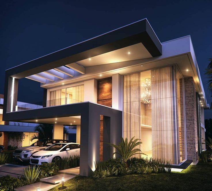 765 melhores imagens de fachadas no pinterest casas for Fachadas de casas modernas en lima