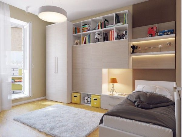 Bedroom with great storage