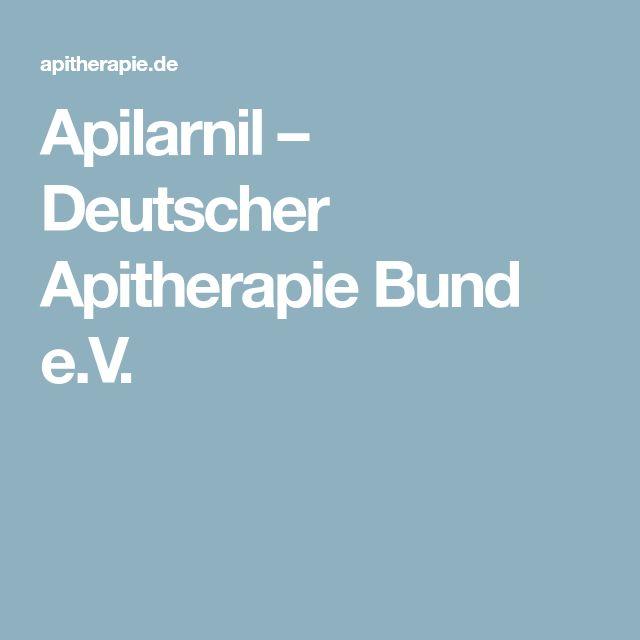 Apilarnil – Deutscher Apitherapie Bund e.V.