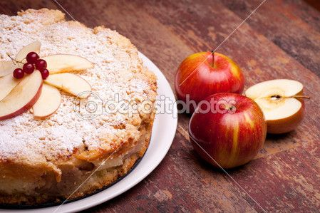 Wensleydale Cranberry And Apple Cake