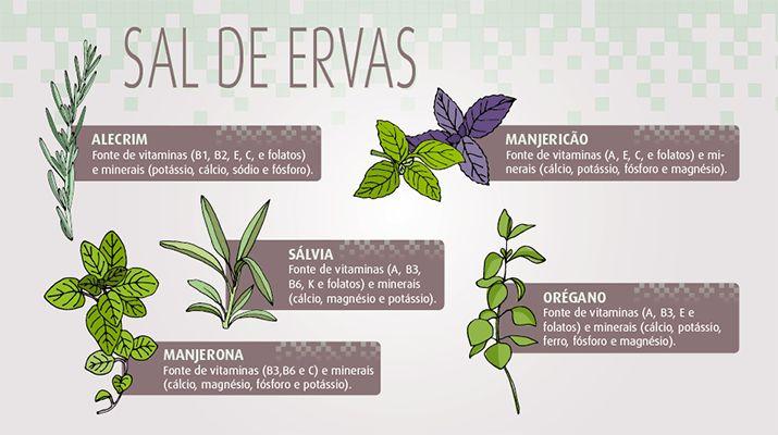 Conheça os Benefícios do Sal de Ervas