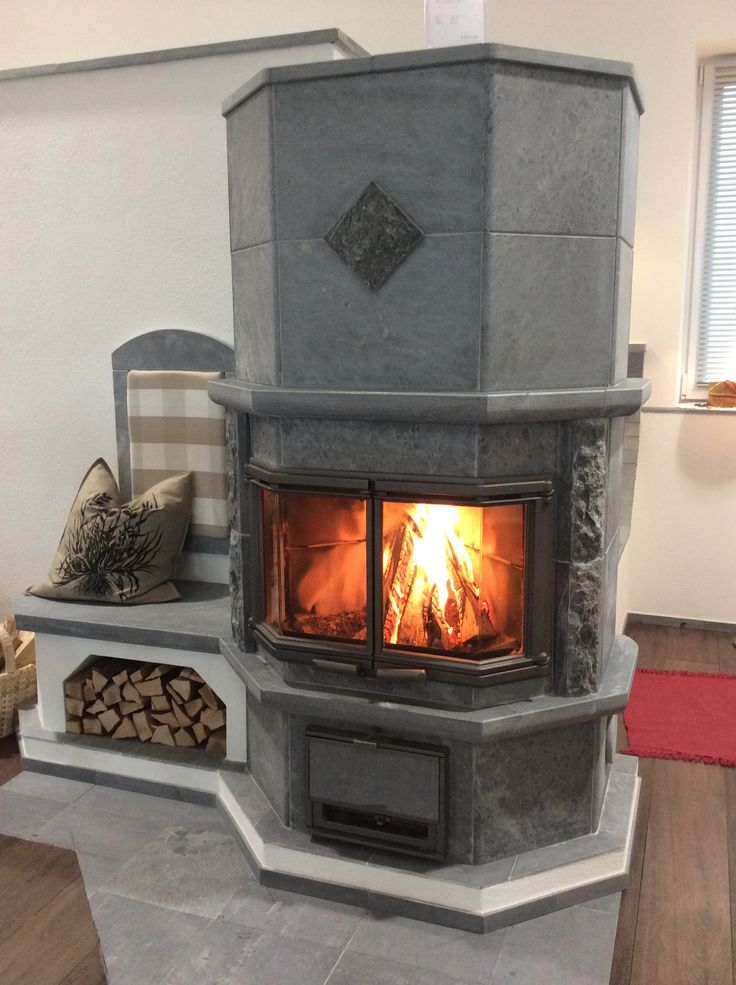 Tulikivi in Austria. | My Tulikivi fireplace | Pinterest ...