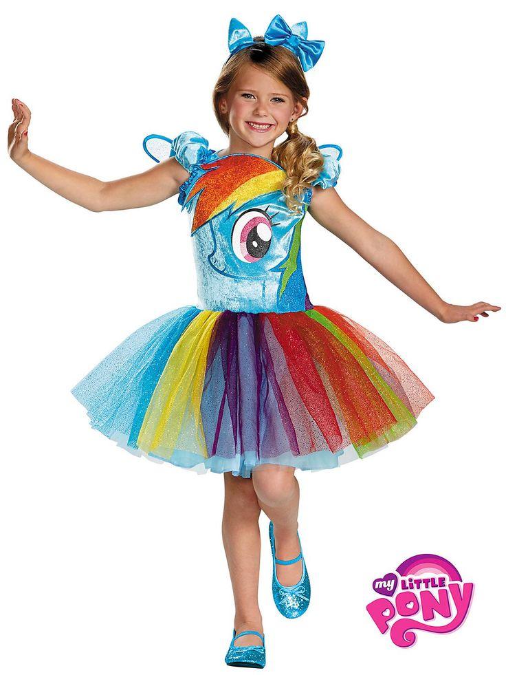 Rainbow Dash Tutu Prestige Costume | Wholesale TV and Movie Costumes for girls