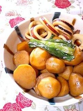 イカと里芋の炊いたん(甘辛煮物)♡