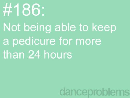 true: Glitter Toe, Danceproblems